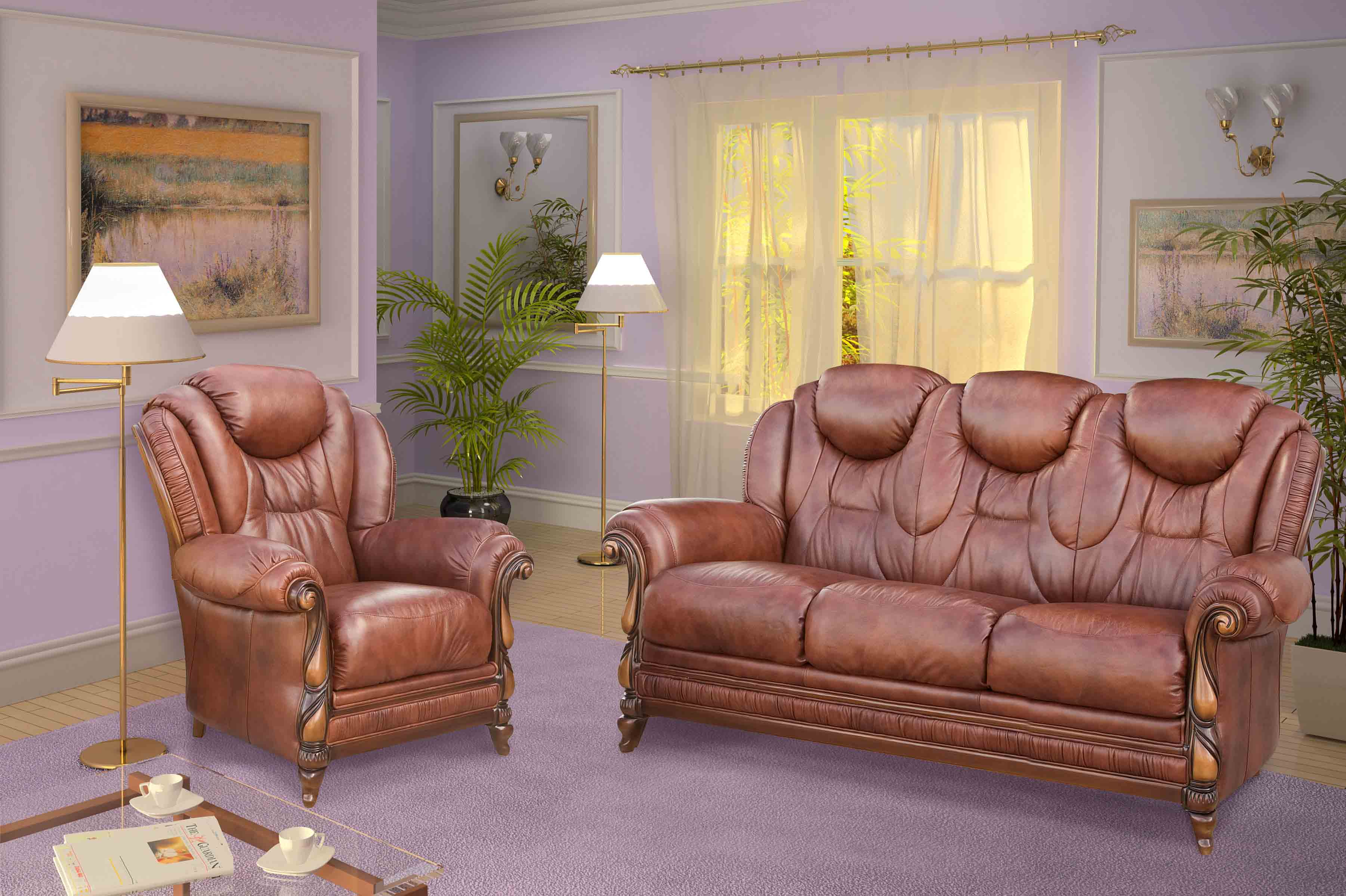 Поставщики натуральной кожи для мягкой мебели российские