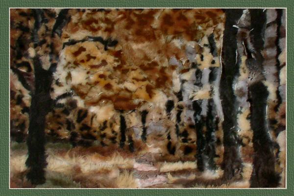 Картины из меха своими руками 45